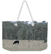 Impressionist Cows Grazing Weekender Tote Bag