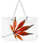 Impressionist Japanese Maple Leaf Weekender Tote Bag