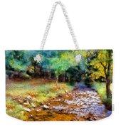 Impressionist Rocky Creek Weekender Tote Bag