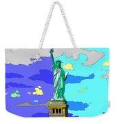 Impressionist Statue Of Liberty Weekender Tote Bag