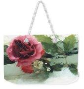 Impressionistic Watercolor Roses, Romantic Watercolor Pink Rose  Weekender Tote Bag