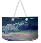 Impressionistic Abstract Wave Weekender Tote Bag