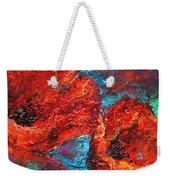 Impressionistic Red Poppies Weekender Tote Bag