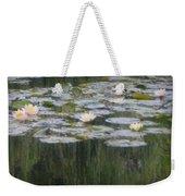 Impressions Of Monet's Water Lilies  Weekender Tote Bag