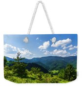 Impressions Of Mountains And Forests And Trees Weekender Tote Bag