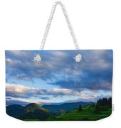 Impressions Of Mountains And Magical Clouds Weekender Tote Bag