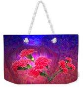 Impressions Of Pink Carnations Weekender Tote Bag by Joyce Dickens