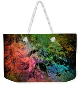 In A Colorful World Weekender Tote Bag