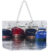 In A Row Weekender Tote Bag