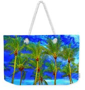In A World Of Palms Weekender Tote Bag