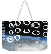 In Circles 2-abstract Painting Weekender Tote Bag