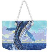 In Contention Off0049 Weekender Tote Bag by Carey Chen