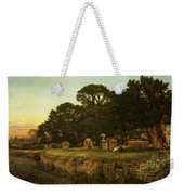 In Country Churchyard Wittington Worcester Weekender Tote Bag