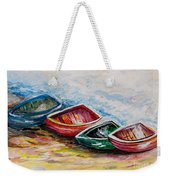 In From The Sea Weekender Tote Bag by Eloise Schneider