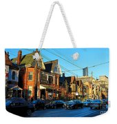 In Front Of The Ago At Dusk Weekender Tote Bag