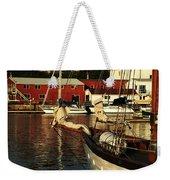 In Harbor Weekender Tote Bag by Karol Livote