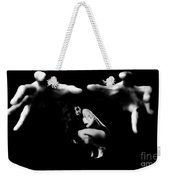 In His Grasp  Weekender Tote Bag