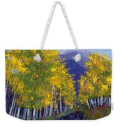In Love With Fall River Road Weekender Tote Bag