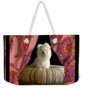 In Memory Of Ms Chloe - On Stage Weekender Tote Bag