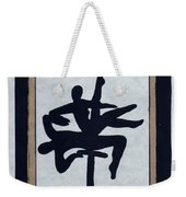 In Perfect Balance Weekender Tote Bag by Barbara St Jean