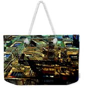 In Perspective - Fire Escapes - Old Buildings Of New York City Weekender Tote Bag