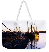 In Port For The Night Weekender Tote Bag