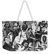 In Praise Of Jazz II Weekender Tote Bag