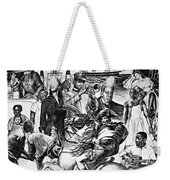 In Praise Of Jazz Iv Weekender Tote Bag