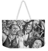 In Praise Of Jazz Weekender Tote Bag