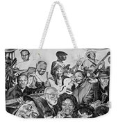 In Praise Of Jazz V Weekender Tote Bag by Steve Harrington