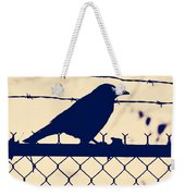 In Search For Worm Weekender Tote Bag