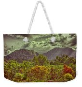 In Search Of The Dinosaurs-jurassic Park Weekender Tote Bag