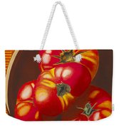 In Search Of The Perfect Tomato Weekender Tote Bag