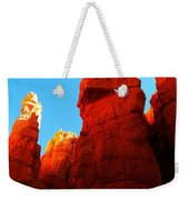 In Shadows Where The Gods Wander Weekender Tote Bag