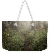 In Silence Weekender Tote Bag by Amy Weiss