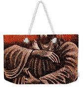 In The Arms Of Christ Weekender Tote Bag
