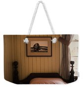 In The Boys Room Weekender Tote Bag
