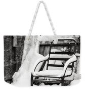 In The Cold Seat Weekender Tote Bag