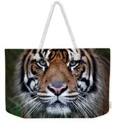 Tiger In Your Face Weekender Tote Bag