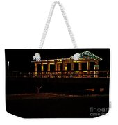 In The Dark I Am Invisible Weekender Tote Bag