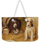 In The Dog House Weekender Tote Bag