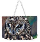 In The Eyes Of The Owl Weekender Tote Bag