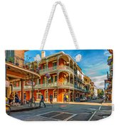 In The French Quarter - Paint Weekender Tote Bag