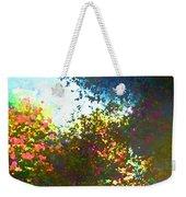 In The Garden Weekender Tote Bag by Pamela Cooper