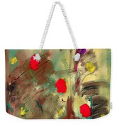 In The Garden  Square Weekender Tote Bag