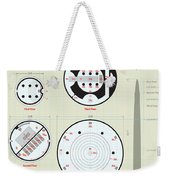 In The Halls Of The Mage-king Tower Levels Weekender Tote Bag