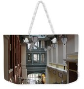 In The Hallway - Peabody Library Weekender Tote Bag