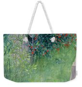 In The Hawthorn Hedge Weekender Tote Bag