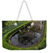 In The Heart Of Amsterdam Hidden Tranquility  Weekender Tote Bag