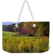 In The Heart Of Autumn Weekender Tote Bag